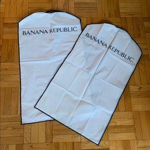 Banana Republic garment bag set